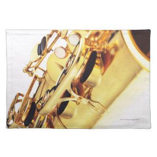 Saxophone 2 placemats