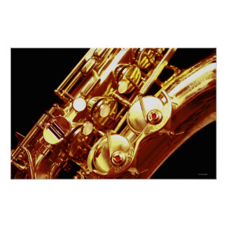 Saxophone 2 print