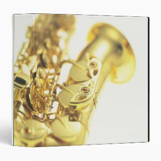 Saxophone 3 3 ring binder