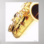 Saxophone 3 print
