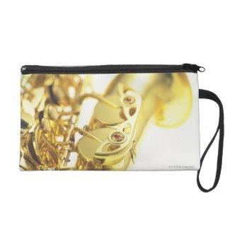 Saxophone 3 wristlet clutches