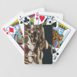 Saxophone 5 bicycle playing cards
