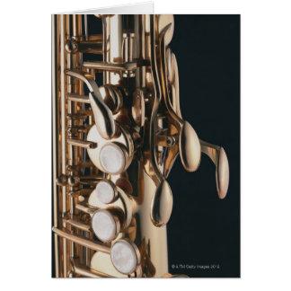 Saxophone 5 card
