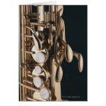Saxophone 5 cards