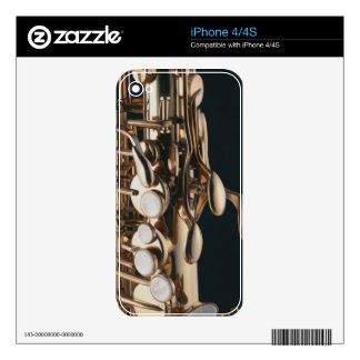 Saxophone 5 decal for the iPhone 4S