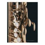 Saxophone 5 post card