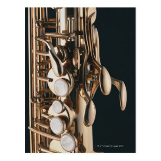 Saxophone 5 postcard