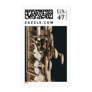 Saxophone 5 stamp