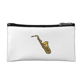 saxophone abstract detailed.png cosmetic bag
