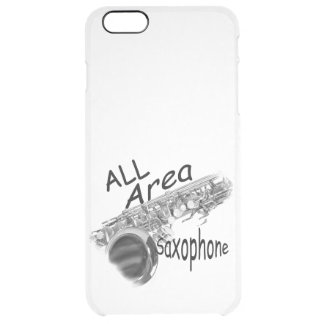 """""""SAXOPHONE ALL AREA"""" Phone Covers IN ANY COLOR"""