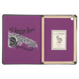 """SAXOPHONE ALL REGION""  iphone ipad ANY COLOR iPad Air Case"