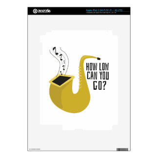 Saxophone, alto, horn, instrument, music, hobby, h decals for iPad 3