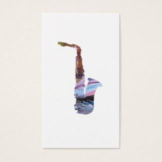 Saxophone Art Business Card