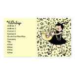 Saxophone Baby Business Card