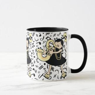 Saxophone Baby Mug