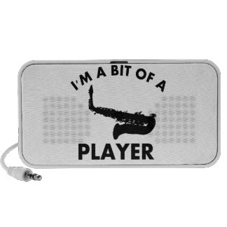 saxophone bit of a player musical designs PC speakers