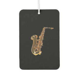 Saxophone Car Air Freshener