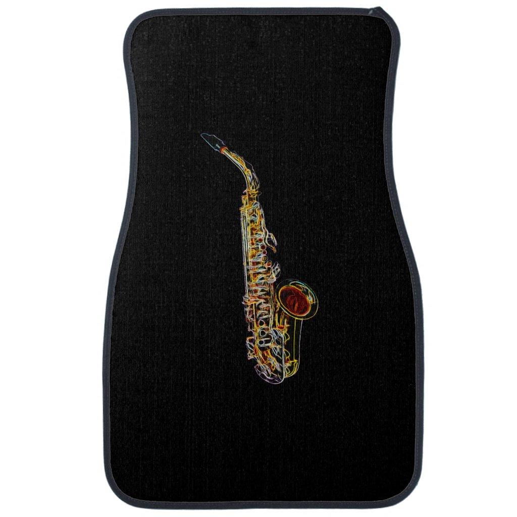 Saxophone Car Mat