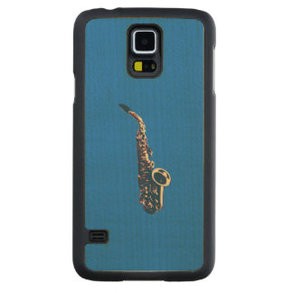 Saxophone Carved® Maple Galaxy S5 Slim Case