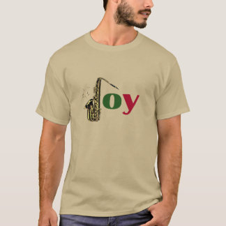 Saxophone Christmas Joy T-Shirt