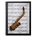 Saxophone Classic Notebook