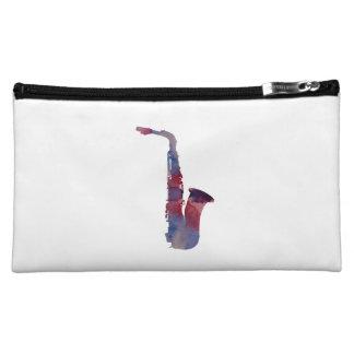 Saxophone Cosmetic Bag