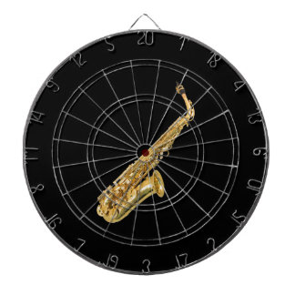"""Saxophone"" design gifts and products Dartboard"