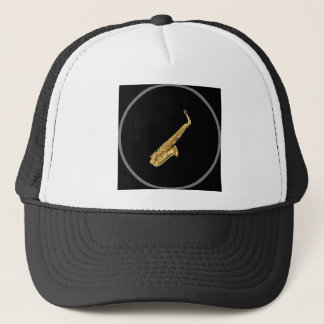 """Saxophone"" design gifts and products Trucker Hat"