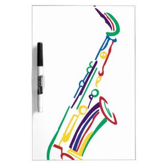 Saxophone Dry Erase Board