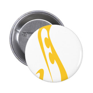 Saxophone for Saxophonist's Logo in Swish Drawing Pin