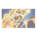 Saxophone - Fractal Double-Sided Standard Business Cards (Pack Of 100)