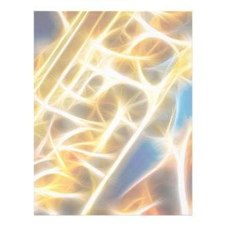 Saxophone Fractal Flyer Design