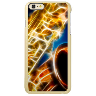 Saxophone Fractal Incipio Feather® Shine iPhone 6 Plus Case