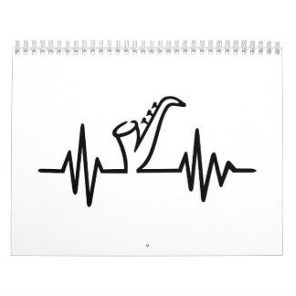 Saxophone frequency calendar