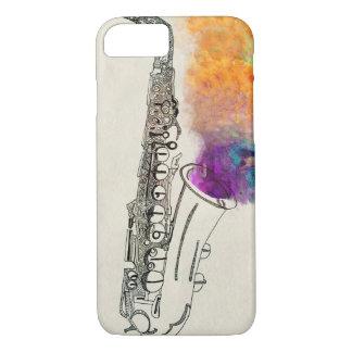 Saxophone Healing iPhone 7 Case