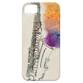 Saxophone Healing iPhone SE/5/5s Case