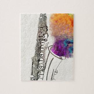 Saxophone Healing Puzzles