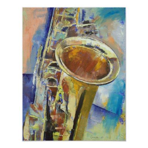 Saxophone Invitation