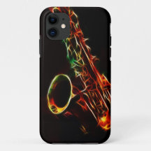 Saxophone iPhone Cases & Covers | Zazzle