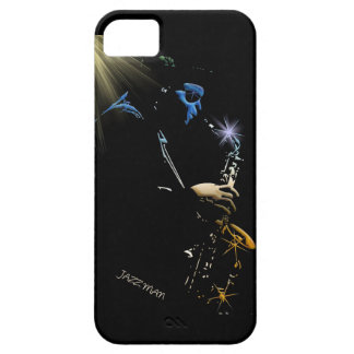 Saxophone Jazz Player Art Design iPhone SE/5/5s Case