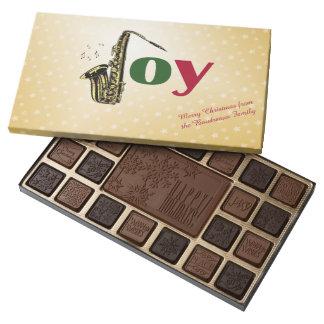 Saxophone Joy Christmas 45 Piece Box Of Chocolates