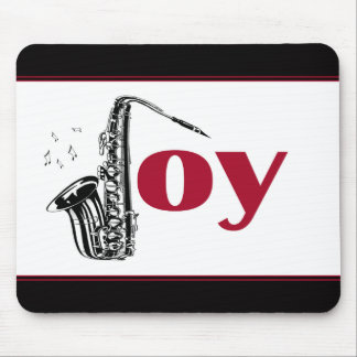 Saxophone Joy Mouse Pad