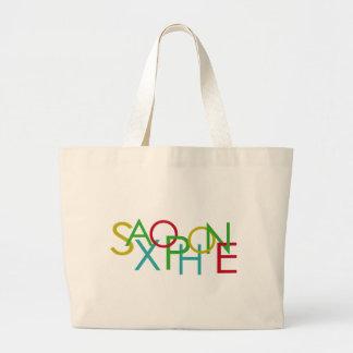 SAXOPHONE Letters Bag