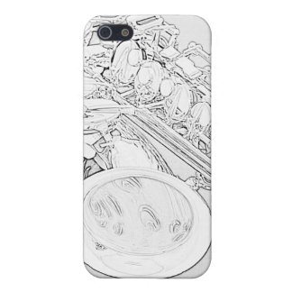 Saxophone Line Drawing iphone Case Case For iPhone 5/5S