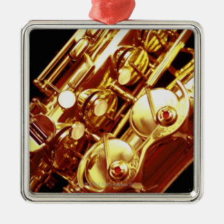 Saxophone Metal Ornament