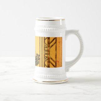 Saxophone 18 Oz Beer Stein