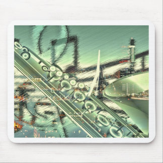 Saxophone music design accessories - customize mouse pads
