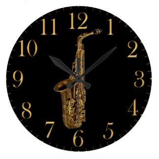 Rock N Roll Music Wall Clocks Zazzle
