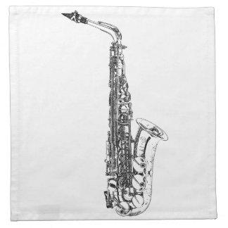 Saxophone Napkin