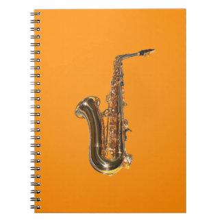 Saxophone Notebook